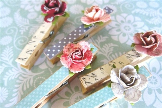 Fancy Clothespins