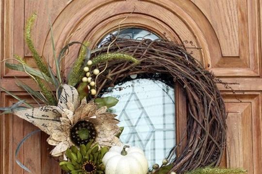 New Fall Wreath