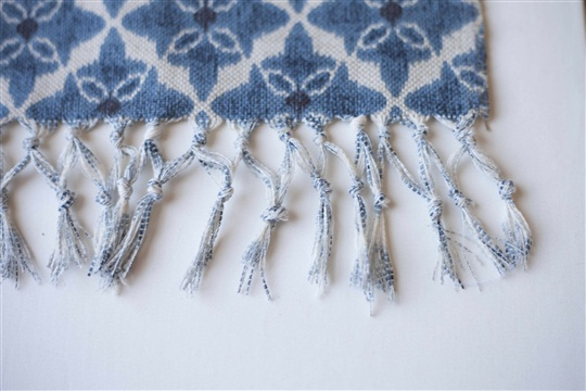 DIY How to Make a Boho Beach Blanket with Carrying Straps