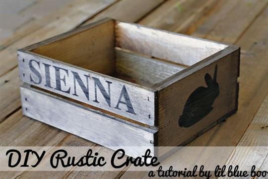 Make a Rustic Crate (A Tutorial)
