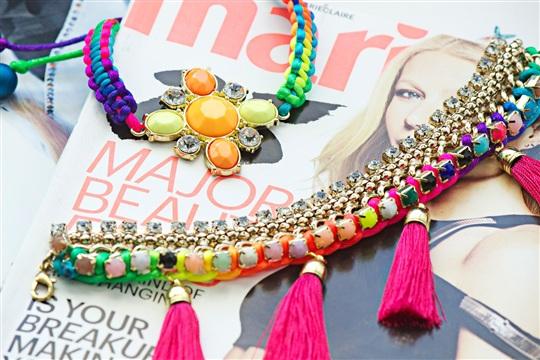 Neon POP Tropical Punch Bracelets
