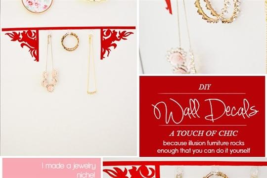 Craft A Doodle Doo The Decorista Chronicles DIY Wall Decals!
