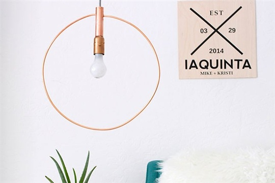 DIY Copycat Make This 375 Hoop Light for Just 60