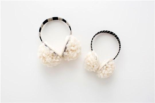 Warm Up With DIY Pom Pom Ear Muffs