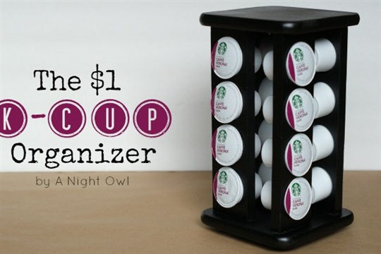 DIY Keurig K Cup Organizer