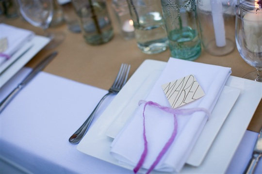 How to Make Easy Modern Place Cards