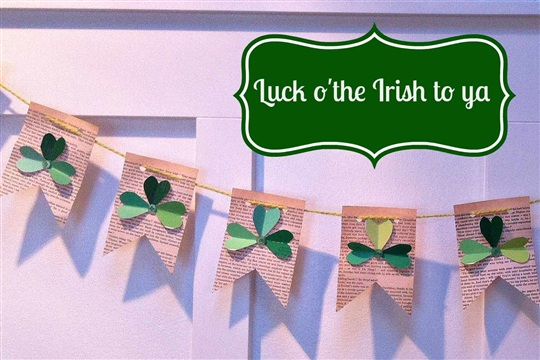 4F Craftin A St. Patrick's Day Bunting