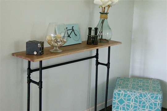 How To Build A Rustic Table Using Galvanized Pipes