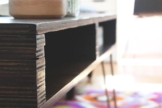 DIY Storage Coffee Table Idle Hands Awake