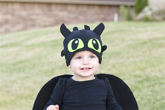 DIY Toothless Costume...from