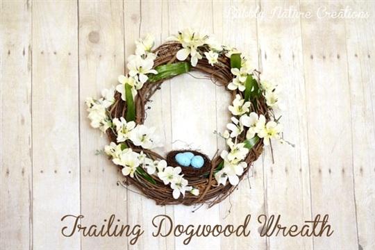 DIY Trailing Dogwood Wreath {Pottery Barn Knock off}