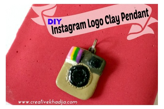 How To Make Instagram Polymer Clay Jewelry Pendant