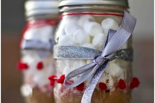 Cocoa in a Jar Gift