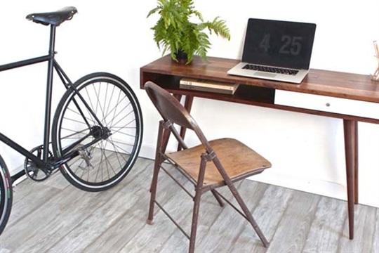 DIY Mid Century Modern Desk