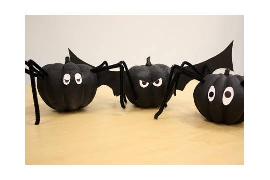 DIY Pumpkins and Spiders and Bats... Oh My!