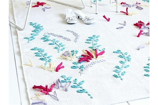 Embroidered Rugs DIY Pattern