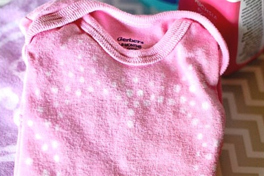 Watermark Baby Onesie Tutorial