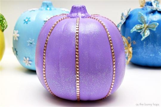 No Carve Princess Pumpkins