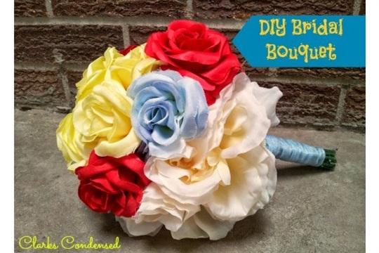 Simple Bridal Bouquet Tutorial