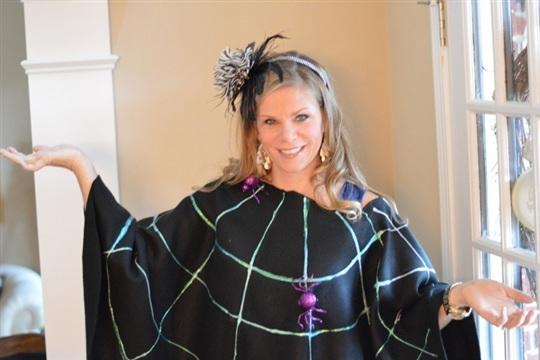 Spider Costume Poncho