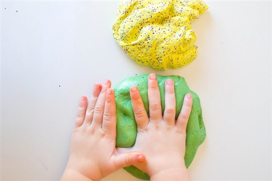 Galaxy Slime, a Fun Summer Craft
